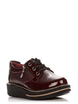 Туфлі бордові | 2177894