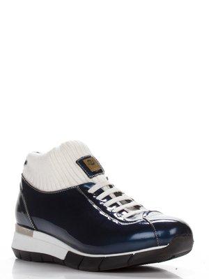 Ботинки синие | 3543315