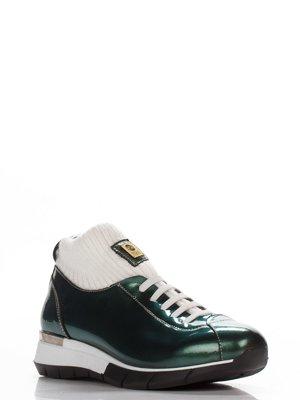 Ботинки зеленые | 3543316