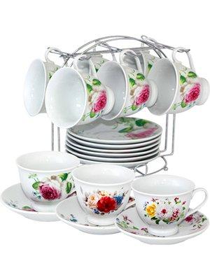 Сервіз чайний «Квіти» (12 предметів) | 3546650