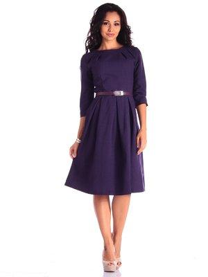 Сукня темно-фіолетова | 3550052