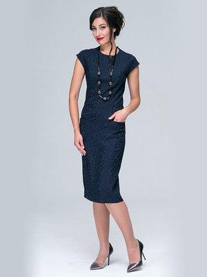 Платье синее | 3551484