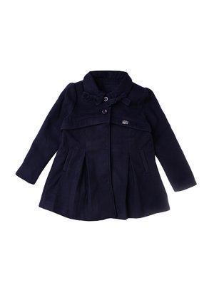 Пальто темно-синее | 3546684