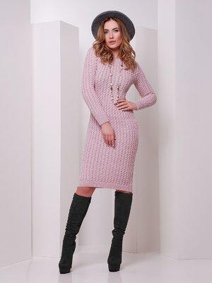Сукня кольору пудри | 3552276