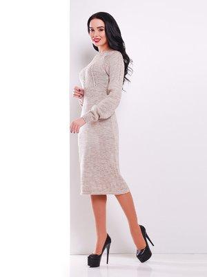 Сукня кольору капучино | 3552286