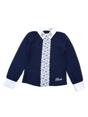 Блуза синя | 3546695