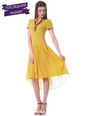 Сукня жовта в горох   1686372