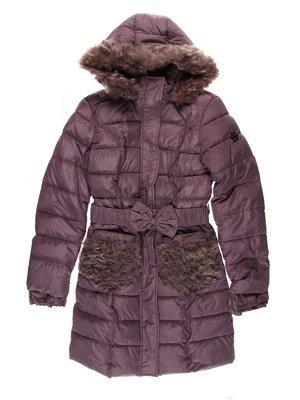 Пальто сиреневое   3555194