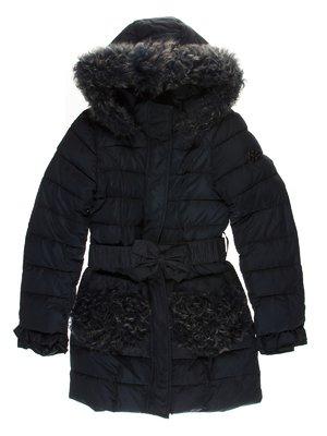 Пальто синее   3555181