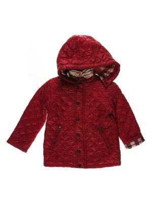 Куртка бордовая | 3555193