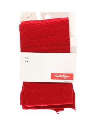 Колготки червоні | 3564281