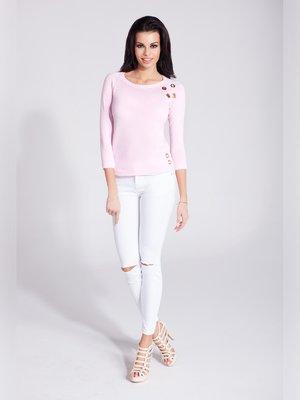 Лонгслив розовый | 3560411