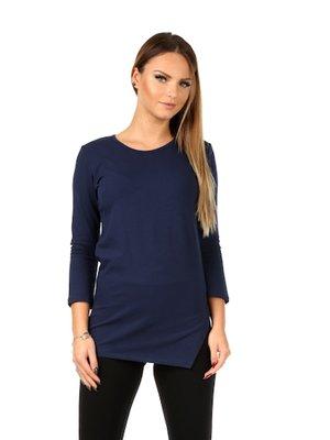 Блуза темно-синяя | 3111896
