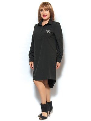 Сукня-сорочка чорна | 3572398