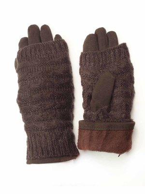Перчатки темно-коричневые   3572418