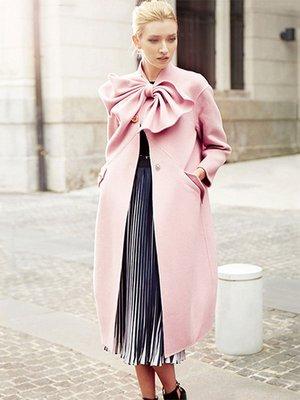 Пальто розовое | 3574220