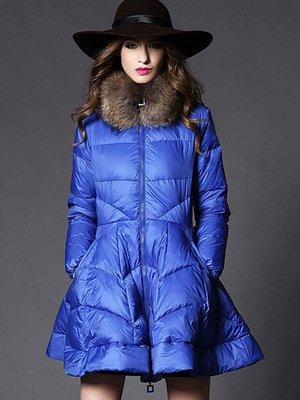 Пальто синее | 3574677