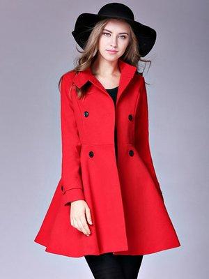 Пальто красное | 3574799