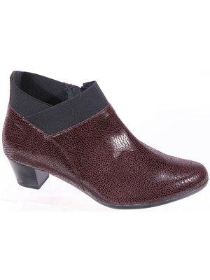 Ботинки бордовые | 3577856