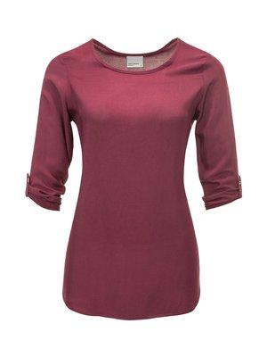 Блуза винного цвета | 3574403