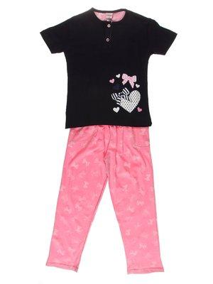 Піжама: футболка і штани | 3551427