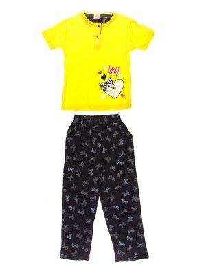 Піжама: футболка і штани | 3551428