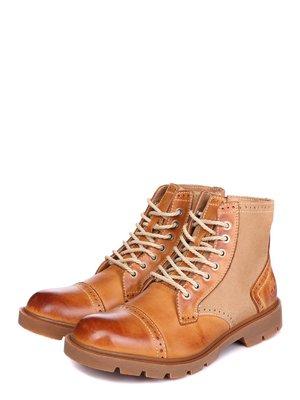 Ботинки рыжего цвета | 3581423