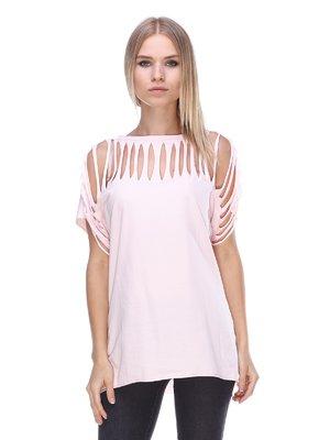 Блуза рожева | 3447286