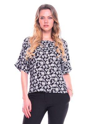 Блуза в цветочный принт | 3590329