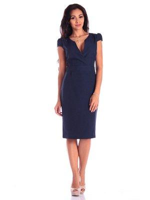 Платье темно-синее | 3591103