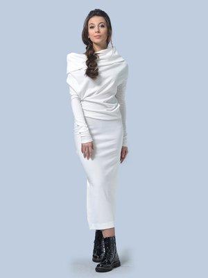 Платье молочного цвета | 3591717