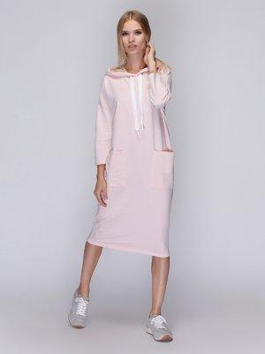 Сукня кольору пудри | 3581725
