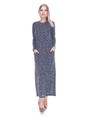 Платье серо-черное | 3593504