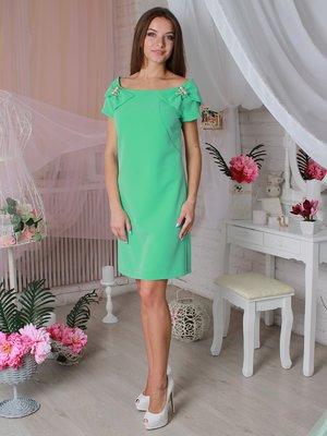 Платье мятного цвета | 3596868
