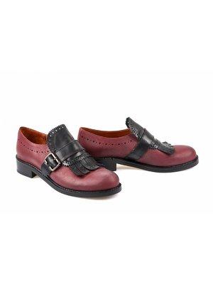 Туфли бордовые | 3598361
