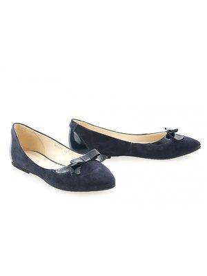 Балетки синие | 3598364