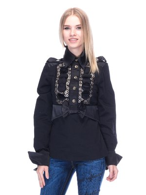 Блуза чорна | 3273315