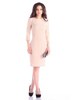 Платье бежевое | 3600974