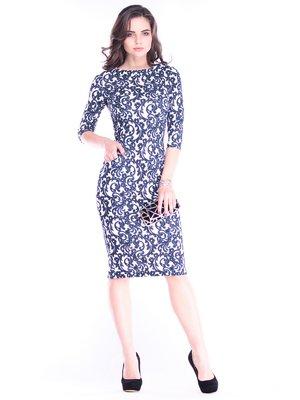 Платье в принт | 3600990