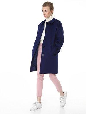 Пальто темно-синее | 3605781