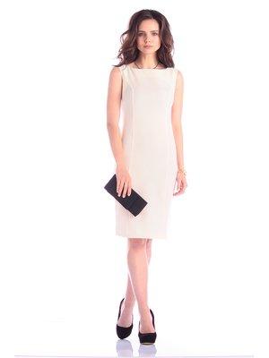 Сукня-сарафан молочного кольору | 3608702
