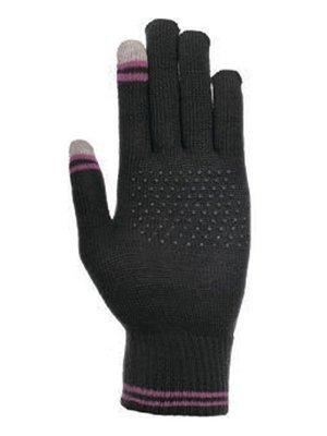 Варежки черные для сенсорных экранов | 3608421
