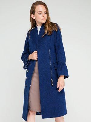 Пальто цвета морской волны | 3606560