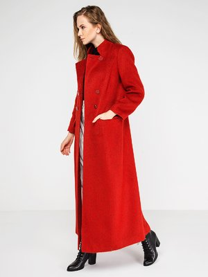 Пальто ярко-красное | 3606565