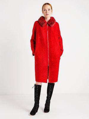 Пальто ярко-красное | 3606567