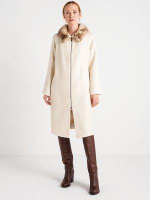 Пальто перлового кольору   3606568