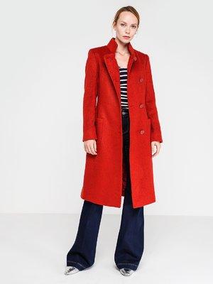 Пальто ярко-красное | 3606571
