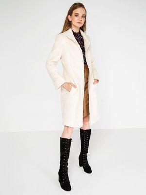 Пальто жемчужного цвета | 3606581