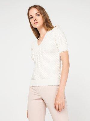 Пуловер молочного кольору | 3606612