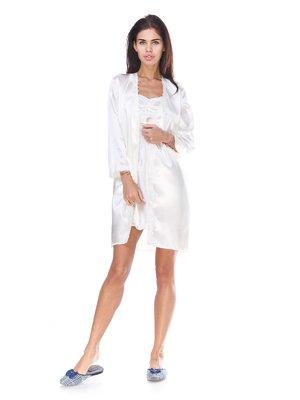 Комплект: халат та нічна сорочка | 2905384